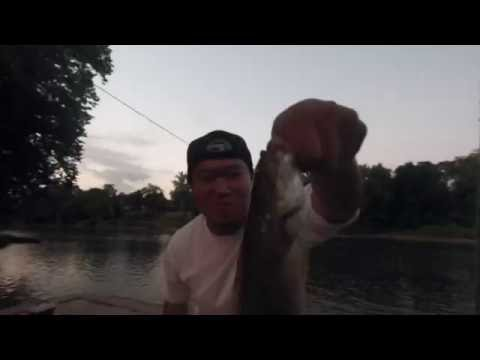 This DJ Gone Fishing Almost DROWNED On The Shenandoah River