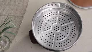 키친아트 라팔 통주물 전기 찜가마솥 6