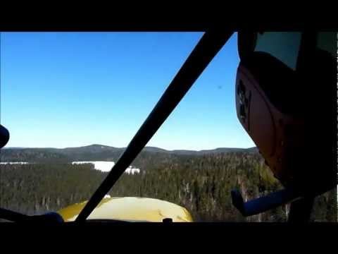 Ski flying and Ice Fishing 175 miles North of Ottawa