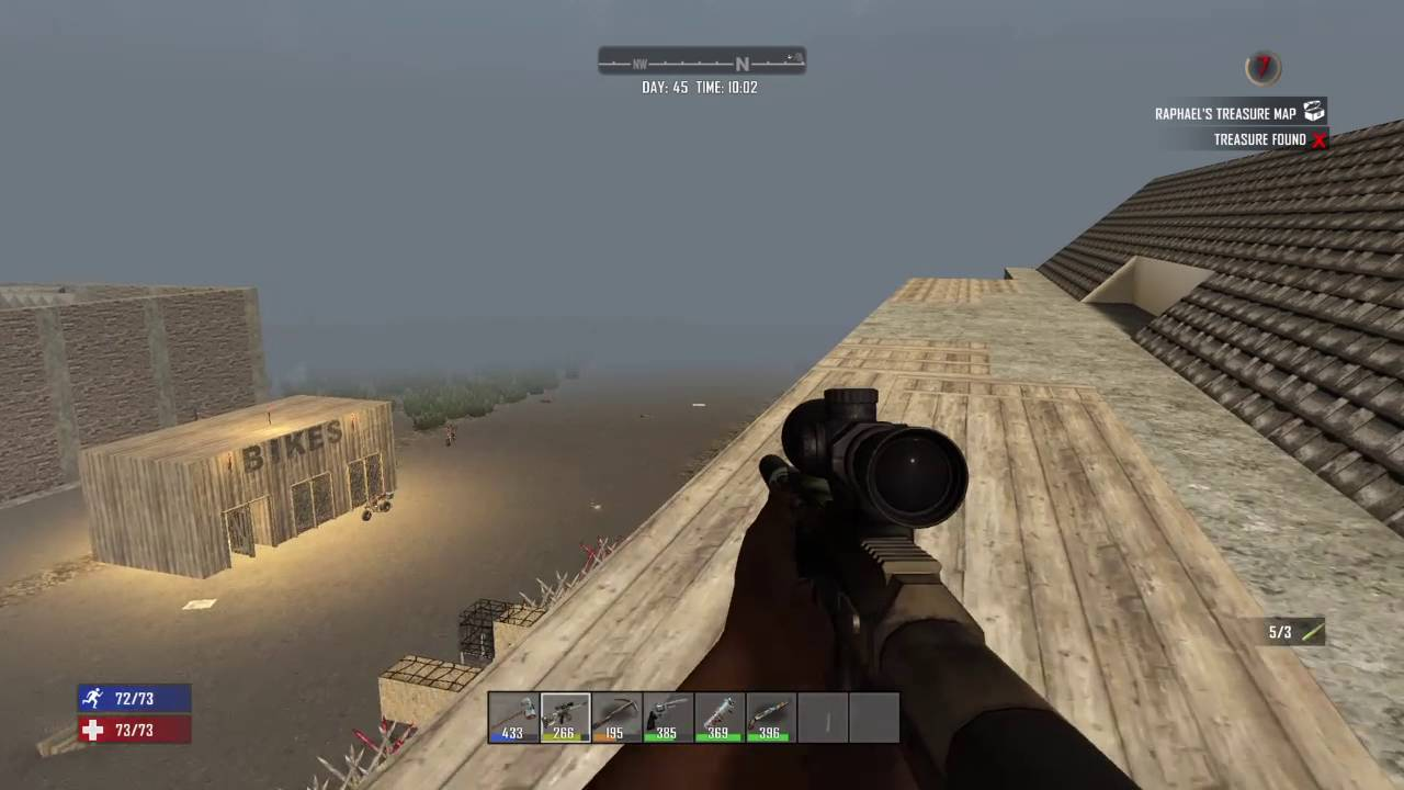 Ps4 7 Days To Die How To Use The Sniper Rifle Youtube