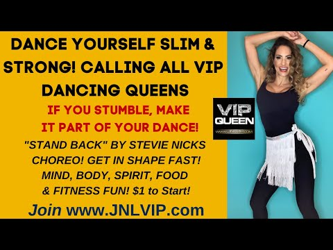 Fun Fitness Dance Choreography STAND BACK by Master Trainer Jennifer Nicole Lee, Join JNLVIP.com