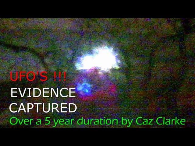 Caz Clarke UFO Evidence