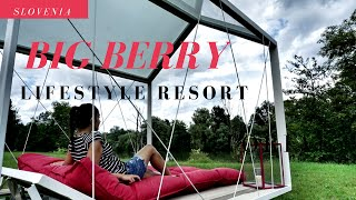 BIG BERRY Lifestyle Resort In Slovenia- The Boho Chica Travel Vlog
