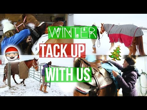 Winter: Tack Up With Us  Equestrian Prep