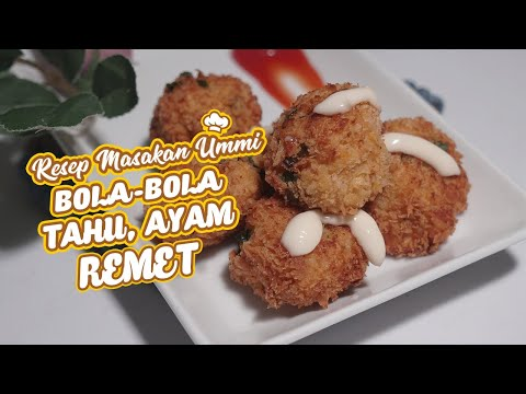 CARA MEMBUAT BOLA-BOLA DAGING TAHU REMET SUPER ENAK from YouTube · Duration:  8 minutes 34 seconds