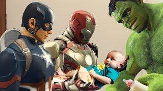 Avengers: Babysitters (Vertical Video)