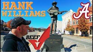 Hillbilly Mall, Bricks, Hank Williams & Alabama BEEF!