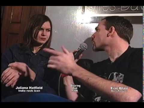 Juliana Hatfield talks w Eric Blair 1997