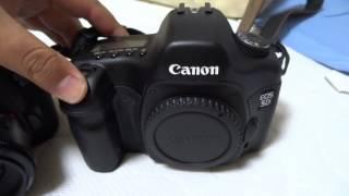 Canon EOS 6D & 5D shutter sound 4.5fps 3fps