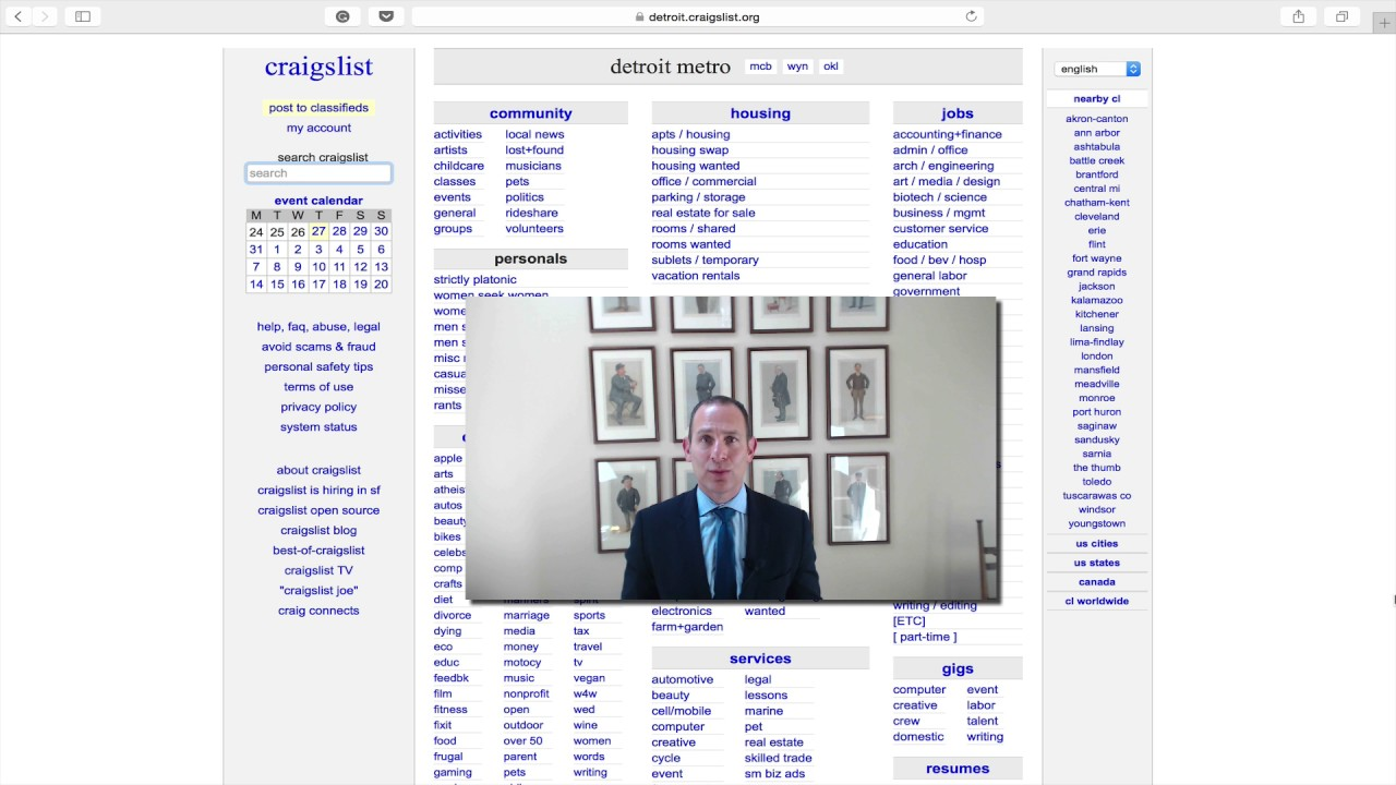 Jon's Business Tip of the Day: Don't Forget About Craigslist for