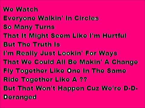 Circles- Twiztid lyrics.wmv