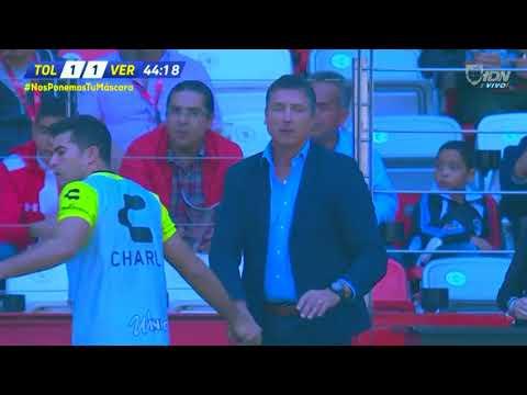Gol de C. Kazim-Richards | Toluca 1 - 1 Veracruz | LIGA Bancomer MX - Clausura 2019 - Jornada 9