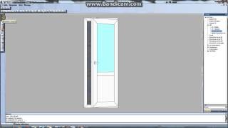 Видеоуроки по СуперОкнам (Двери). Как построить дверь  Часть 4 штапики