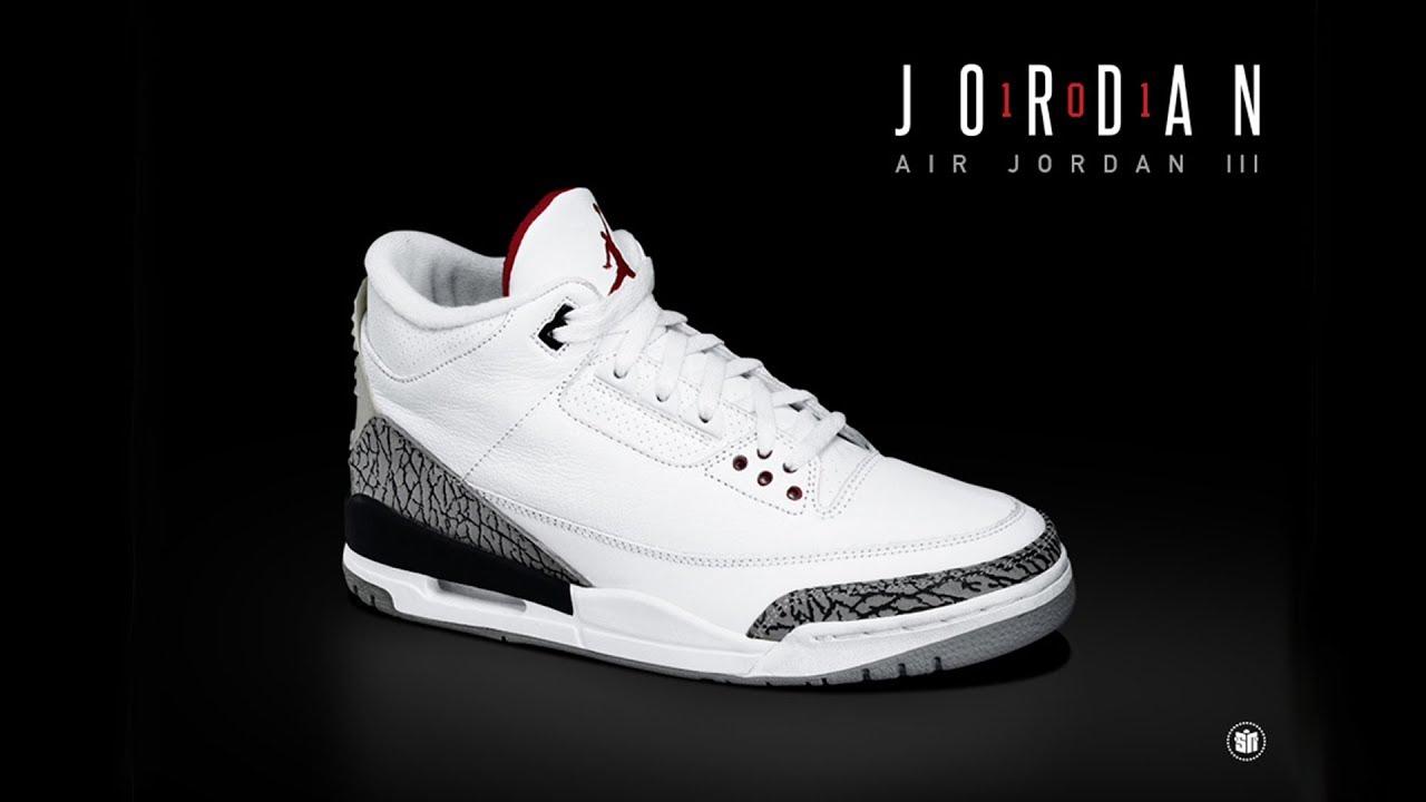 AIR JORDAN 3 HISTORY: The shoe that
