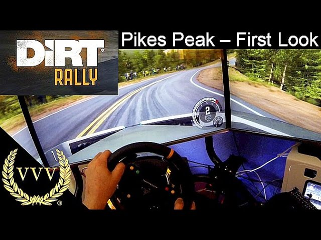 Dirt Rally - Pikes Peak First Look