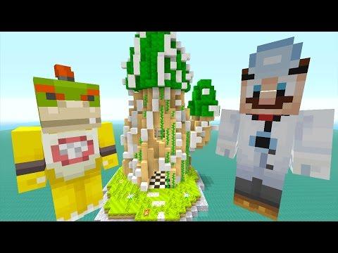 Minecraft Wii U - Nintendo Fun House - BOWSER JR PRANK (GONE WRONG!) [56]