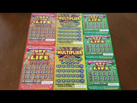 The Good, The Bad, and the Ugly! The Multiplier Game Scratchers & Set for Life