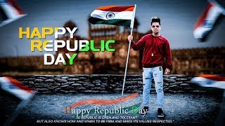 PicsArt 26 January Happy Republic Day 2019 Photo Editing tutorial in picsart Step by Step in Hindi