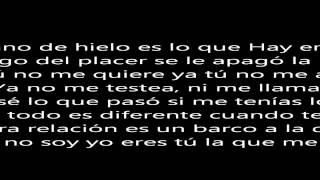 Se Acabó El Amor J Alvarez letra