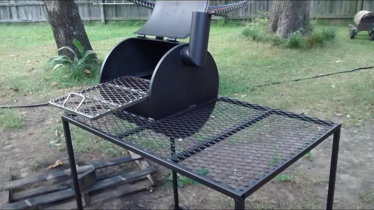Bbq Pit From A Water Heater Youtube