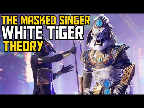 Rob Gronkowski is very clearly White Tiger on 'Masked Singer'