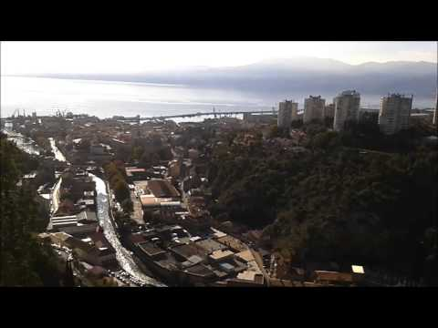 Croatia - Rijeka - view from Trsat fortress