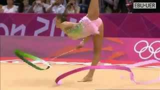 Evgenia Kanaeva ribbon final   Olympic games London 2012