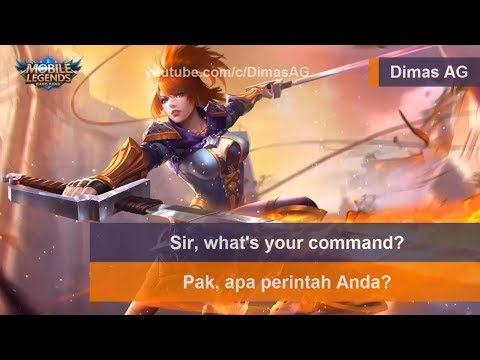 Fanny Voice & Quote Bahasa Indonesia | Mobile Legends