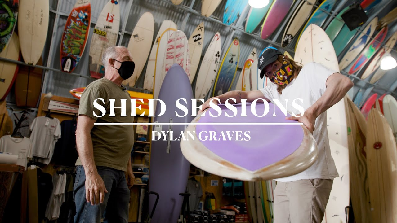 """Dylan Graves Go Switch on a 6'4"""" Flex-Deck in the New """"Shed Sessions"""""""