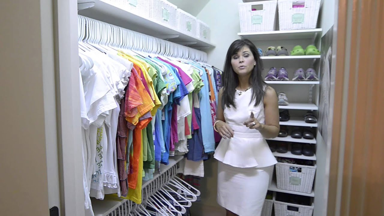 How To Organize A Child S Closet Organizedliving
