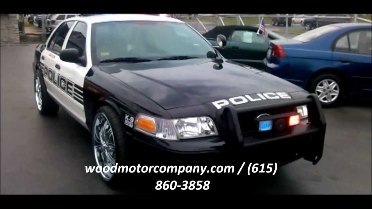 2008 Ford Crown Victoria Police Interceptor For Sale - YouTube
