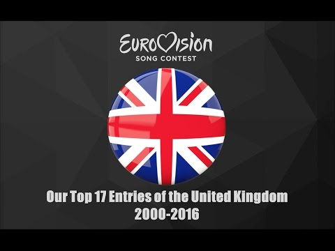 Eurovision 2000-2016: Our Top 17 of the United Kingdom