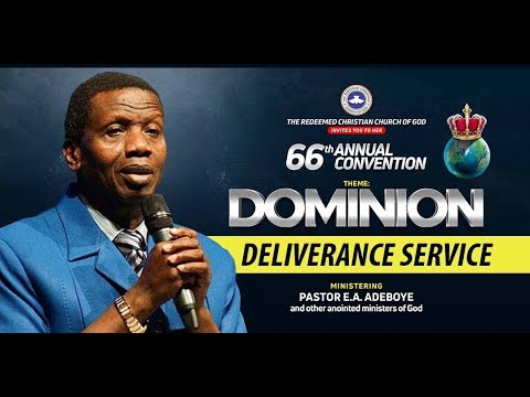 DAY 4 RCCG HOLY GHOST CONVENTION 2018 - DELIVERANCE SERVICE