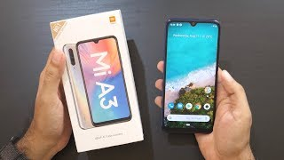 Mi A3 Android One Smartphone Unboxing Overview