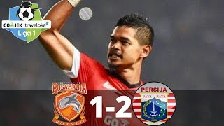 Borneo FC vs Persija Jakarta 1-2 - All Goals & Highlight - Liga 1 -  28/10/2017