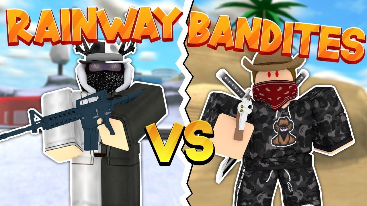 Rainway Roblox Discord Rainway Vs Bandites 1v1 Roblox Mad City Youtube