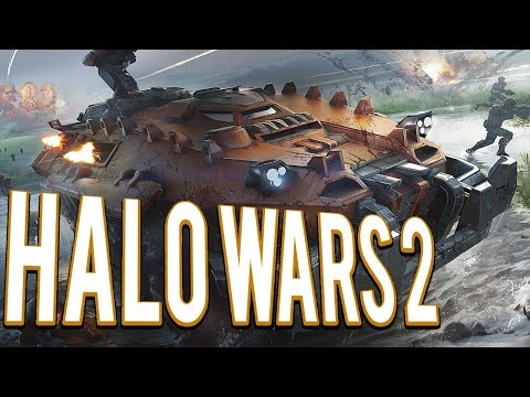 Commander Jerome Legion of Mastadons - Halo Wars 2 Multiplayer 2v2