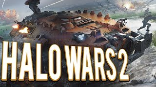 Commander Jerome Legion of Mastadons - Halo Wars 2 Multiplayer 2v2