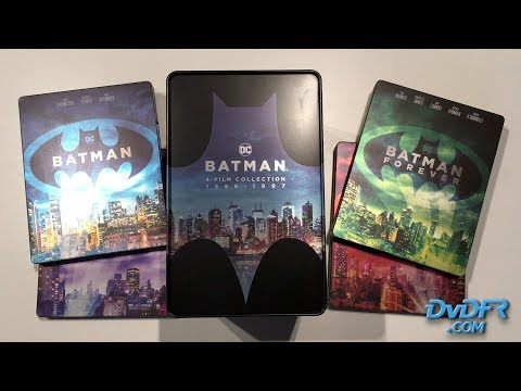 Batman - 4 films collection 1989-1997