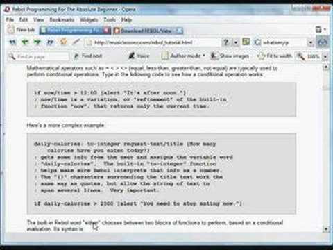 Computer Programming Tutorial, by Nick Antonaccio (#8)