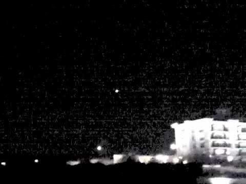 UFO Sighting over Istanbul