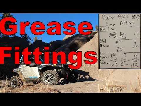 How To Grease Fittings RZR 800: Grease Fitting Locations