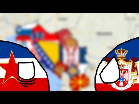 [SpeedDrawing]-[Former Yugoslavian Countries]