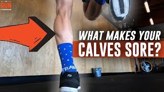 What Makes Your Calves Sore While Running?