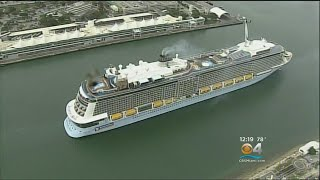 Cruise Capital Of The World Gets Glimpse Of Anthem Of The Seas