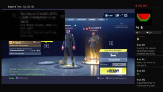 Fortnite battle royal with curry30012 and password962