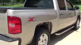 HD VIDEO 2009 CHEVROLET SILVERADO LT Z71 4X4 CREW CAB USED FOR SALE SEE WWW SUNSETMOTORS COM