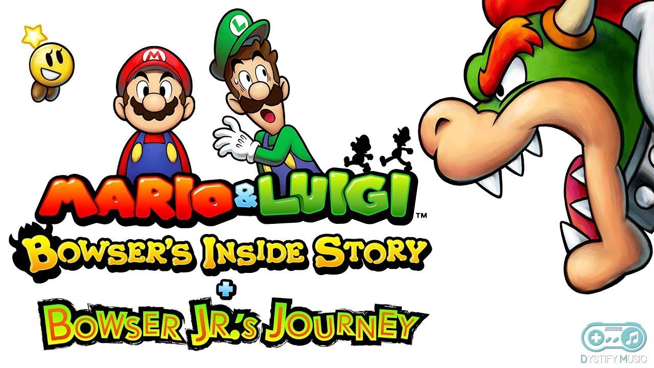 Bowser S Tunnel Outside Mario Luigi Bowser S Inside Story Bowser Jr S Journey Soundtrack