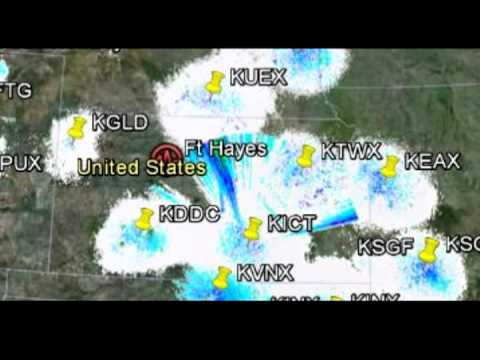 Nexrad HAARP Weather Control: Salinas, Kansas 09-09-12