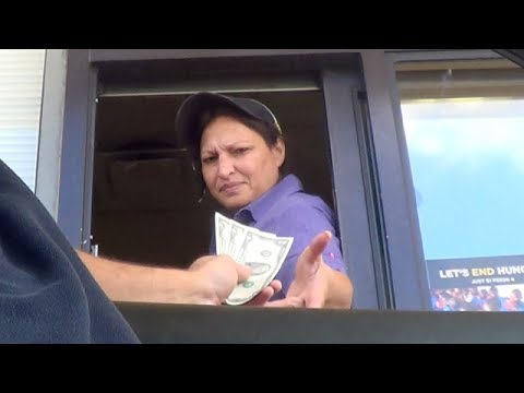 $2 Bills At Fast Food Drive-thrus: What Will Happen? Bonus From The Two Dollar Bill Documentary